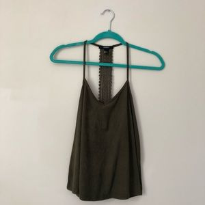 Forever 21 Green Tank Top